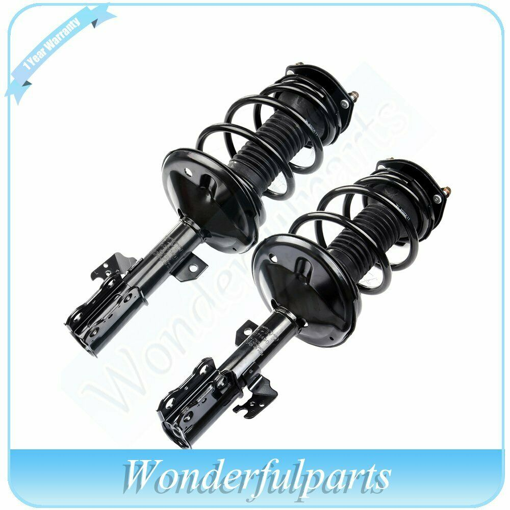 new front complete struts coil spring assembly for 2002. Black Bedroom Furniture Sets. Home Design Ideas