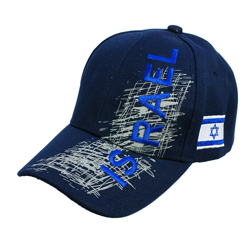b9cd673f0282 Details about Brand new Israel Embroidered drak blue Baseball cap hat  fashion with Israel flag