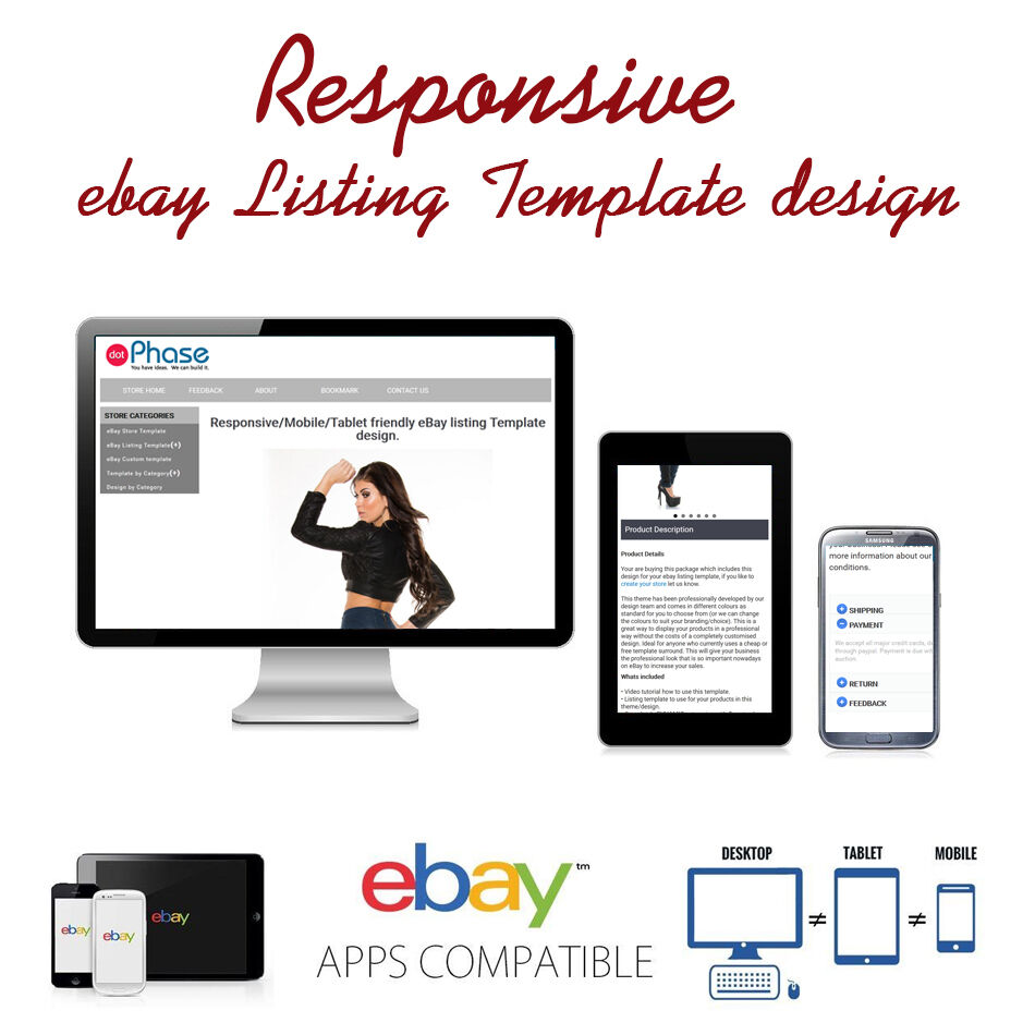 responsive ebay listing template design auctiva inkfrog responsive design ebay. Black Bedroom Furniture Sets. Home Design Ideas