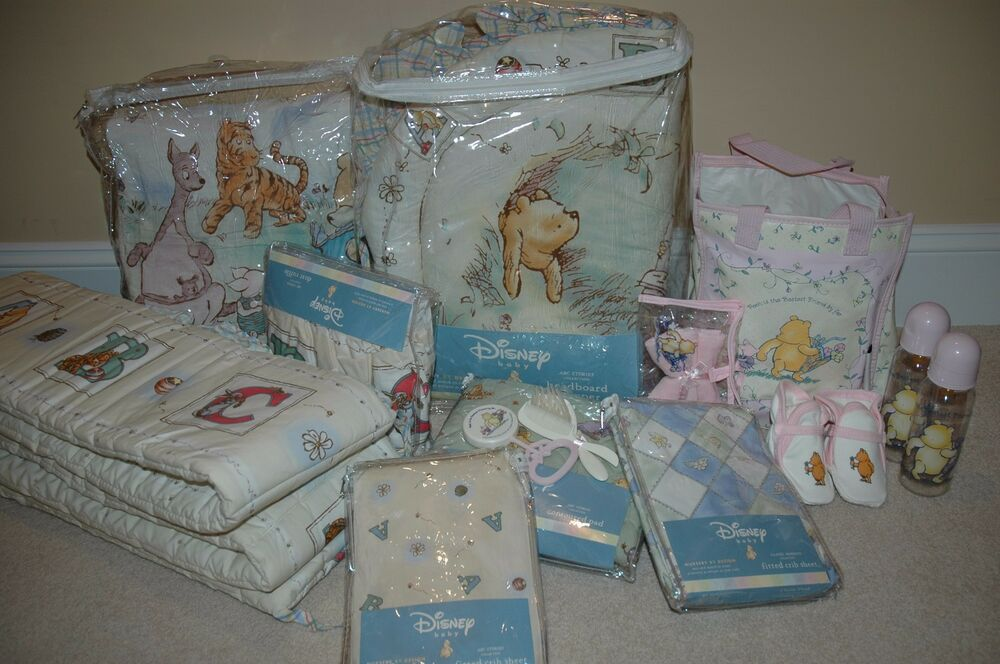 Classic Pooh Baby Girl Bedding