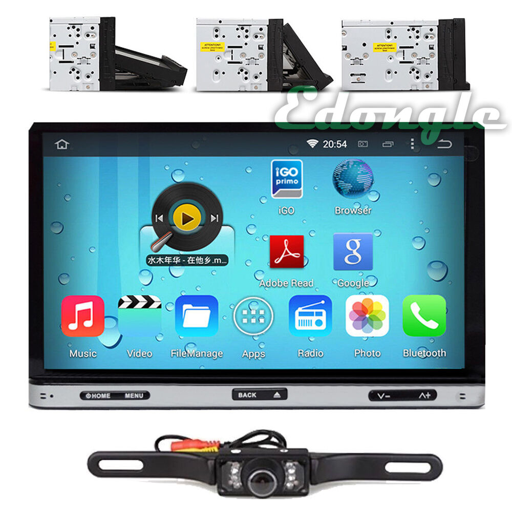 7 39 39 double 2din android 4 4 car dvd player radio stereo for Ebay motors app for android