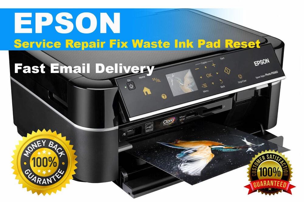 Reset Waste Ink Pad Epson L365 - Delivery Email | eBay