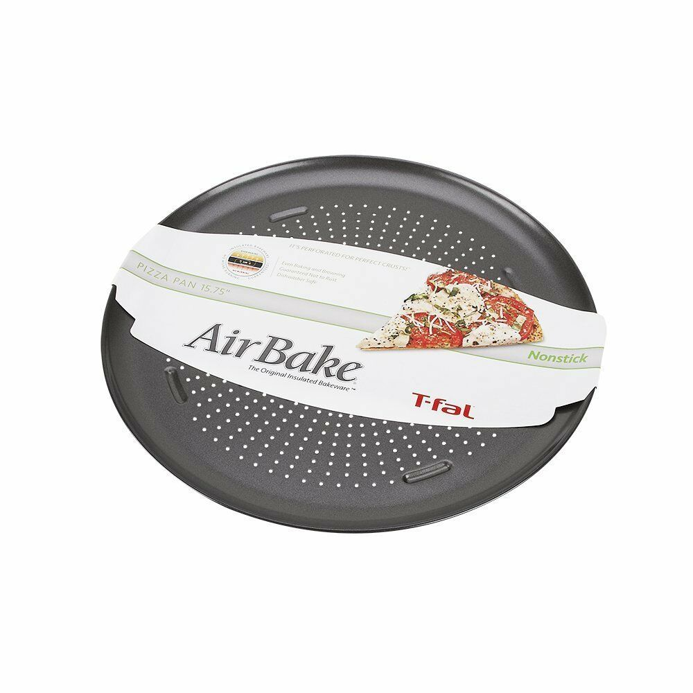 T Fal Airbake Non Stick Pizza Pan Baking Cookware Oven