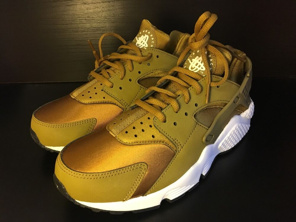 Womens Nike Air Huarache Run Le Bronzine Quot Gold Quot 634835
