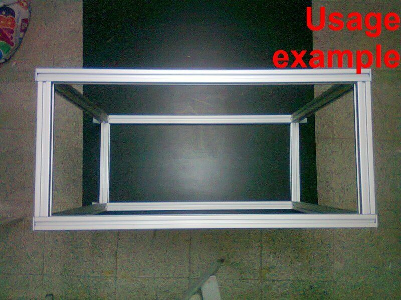 Aluminum T Slot Extruded Profile 30x30 8 Table Or Box