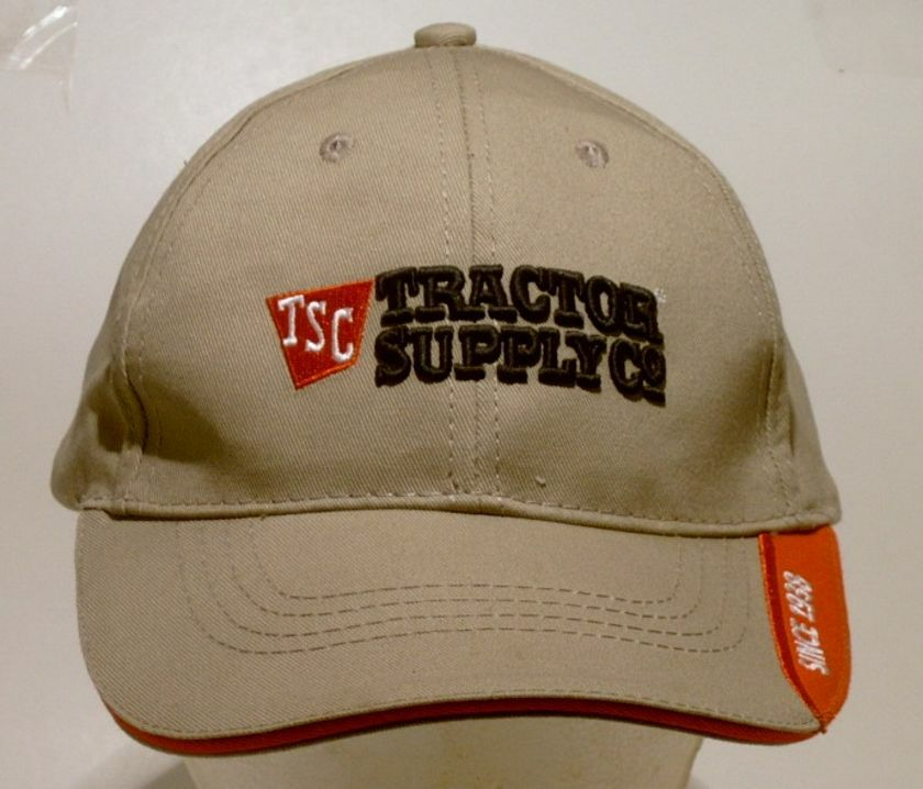 Tractor Shirts And Hats : Tractor supply co embroidered since adjustable cap