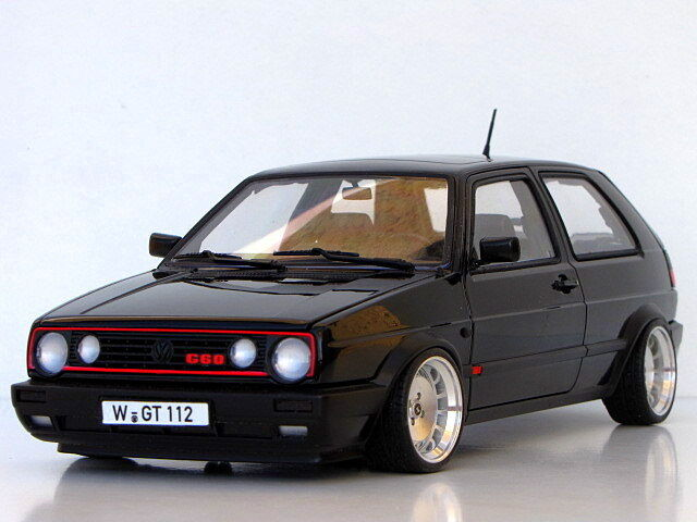 vw golf 2 gti g60 15 in ronal turbo jantes 1 18 tuning ebay. Black Bedroom Furniture Sets. Home Design Ideas