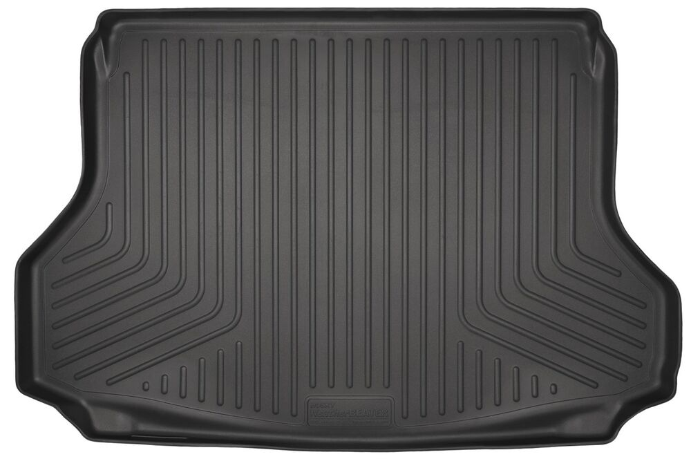 husky liners weatherbeater cargo mat 28671 fits 2014 2017 nissan rogue black ebay. Black Bedroom Furniture Sets. Home Design Ideas