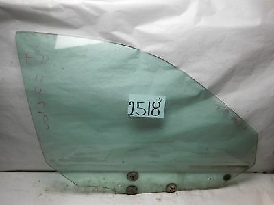96 97 98 99 00 01 Acura Integra  Front Passenger Door Glass Used #2518-V