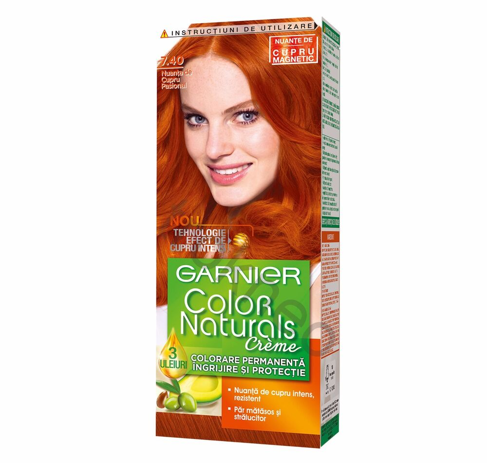 Garnier Color Naturals 7 40 Passionate Copper Color Hair