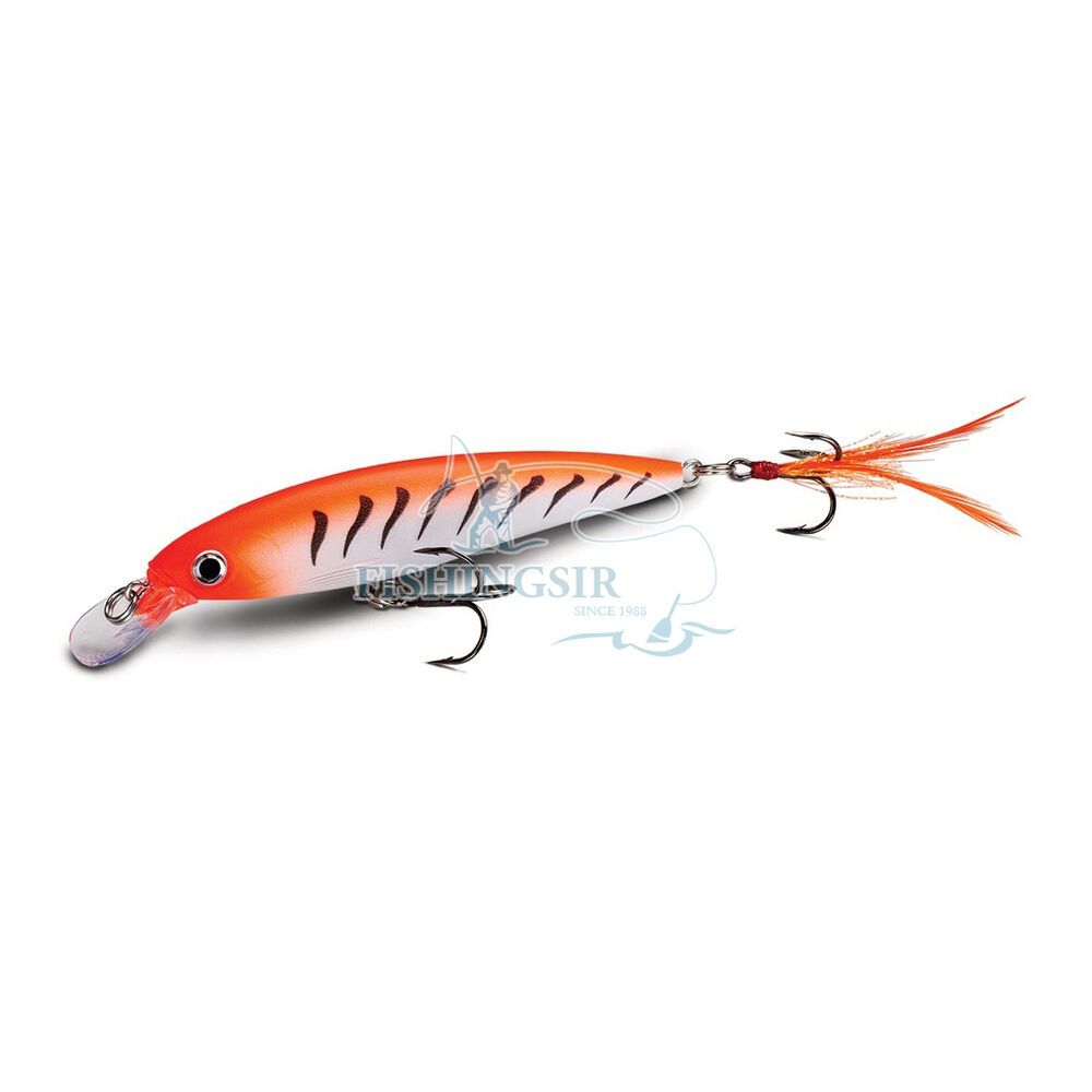 Rapala x rap wire thru minnow jerkbaits bass fishing lures for Zoom fishing lures