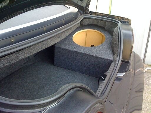 94 04 Ford Mustang Coupe Custom Sub Enclosure Subwoofer