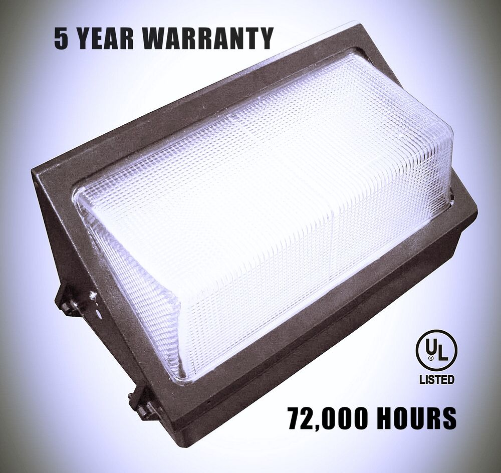 Led Wall Pack Green: 50 Watt LED Wall Pack 5000K With LED Tech 5 Year Warranty
