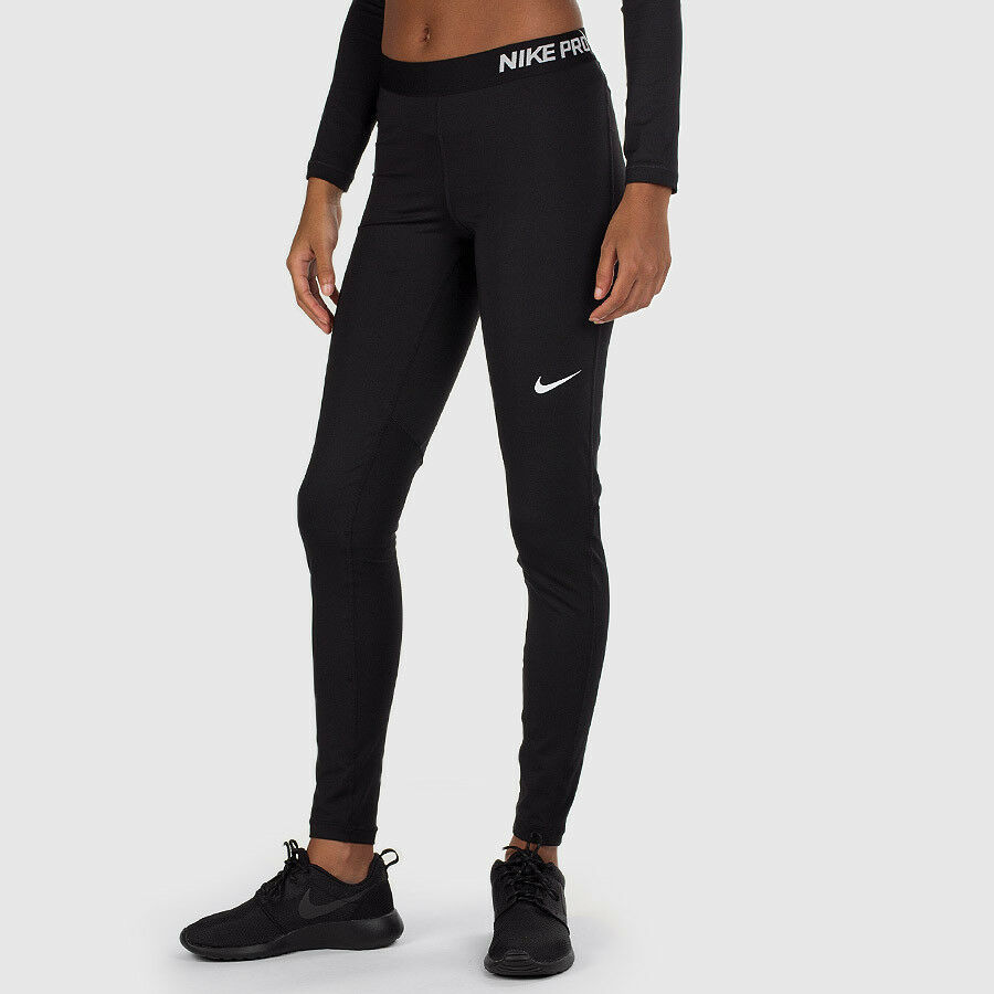 nike pro cool women 39 s fitness running tights 725477 010. Black Bedroom Furniture Sets. Home Design Ideas