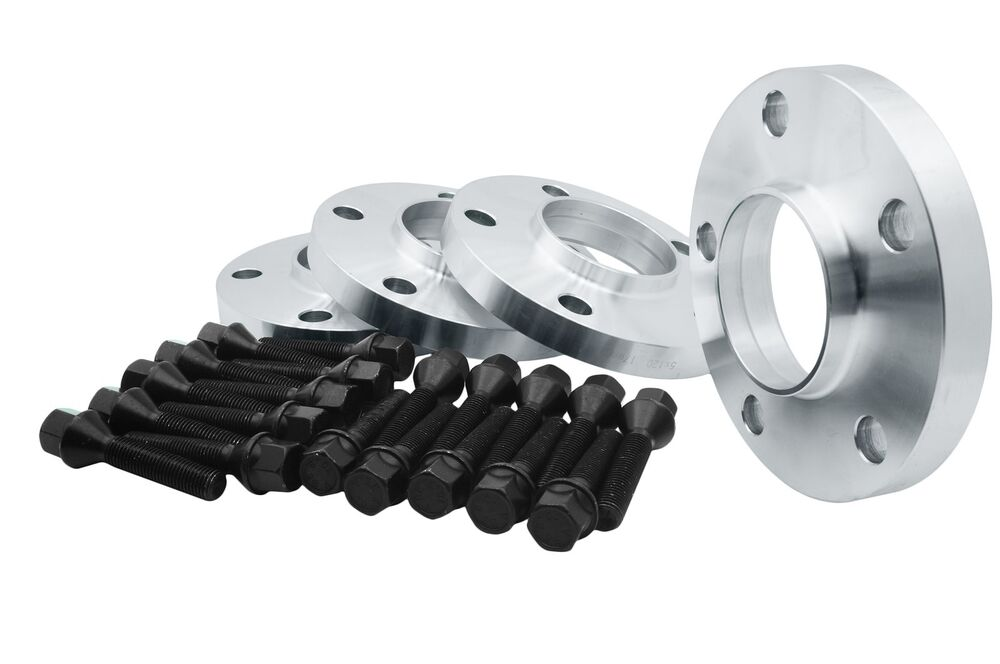 4pcs 20mm 5x120 Wheels Spacers Kit With Lug Bolts 14x1 5