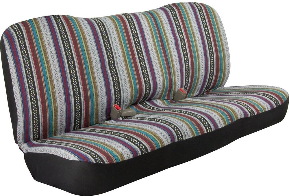 Baja Inca Saddle Blanket Bench Seat Cover Row Full Size