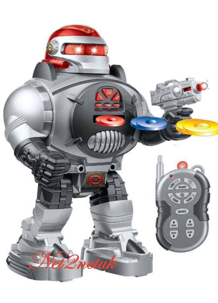 space fighter robot remote control walking dancing