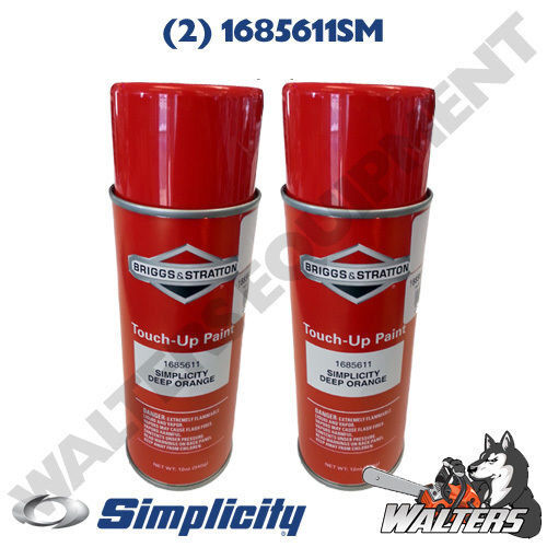 simplicity 1685611sm deep orange paint 12 oz spray cans ebay. Black Bedroom Furniture Sets. Home Design Ideas