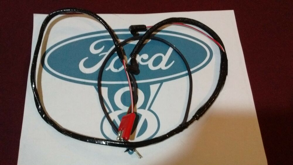 67 ford mustang v8 engine gauge feed wiring harness 289. Black Bedroom Furniture Sets. Home Design Ideas