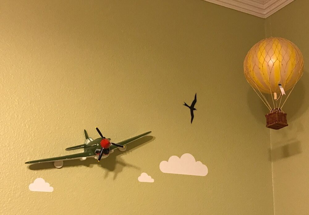 Curtiss P-40 Warhawk Air Force Pilot Airplane 3D Wall Decor Aviation ...