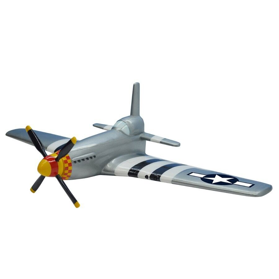 P 51 mustang fighter air force pilot propeller airplane 3d for Decor 6 air force