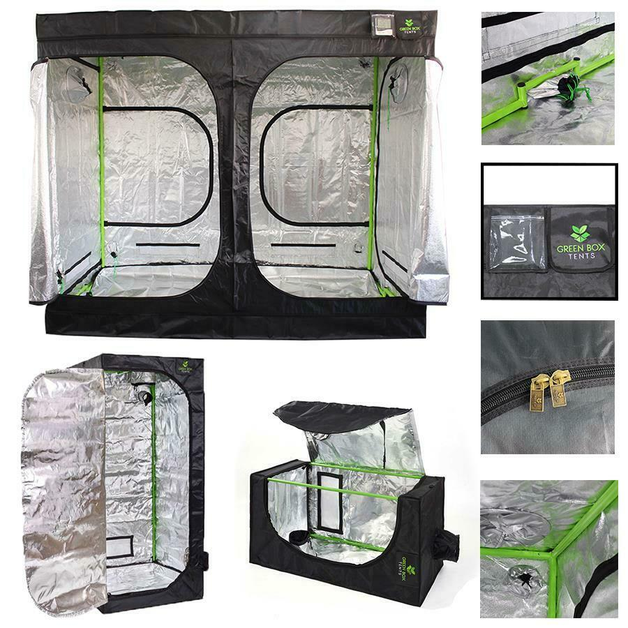Hydroponics Pro Green Box Tent Grow Bud Room 120 X 120 X