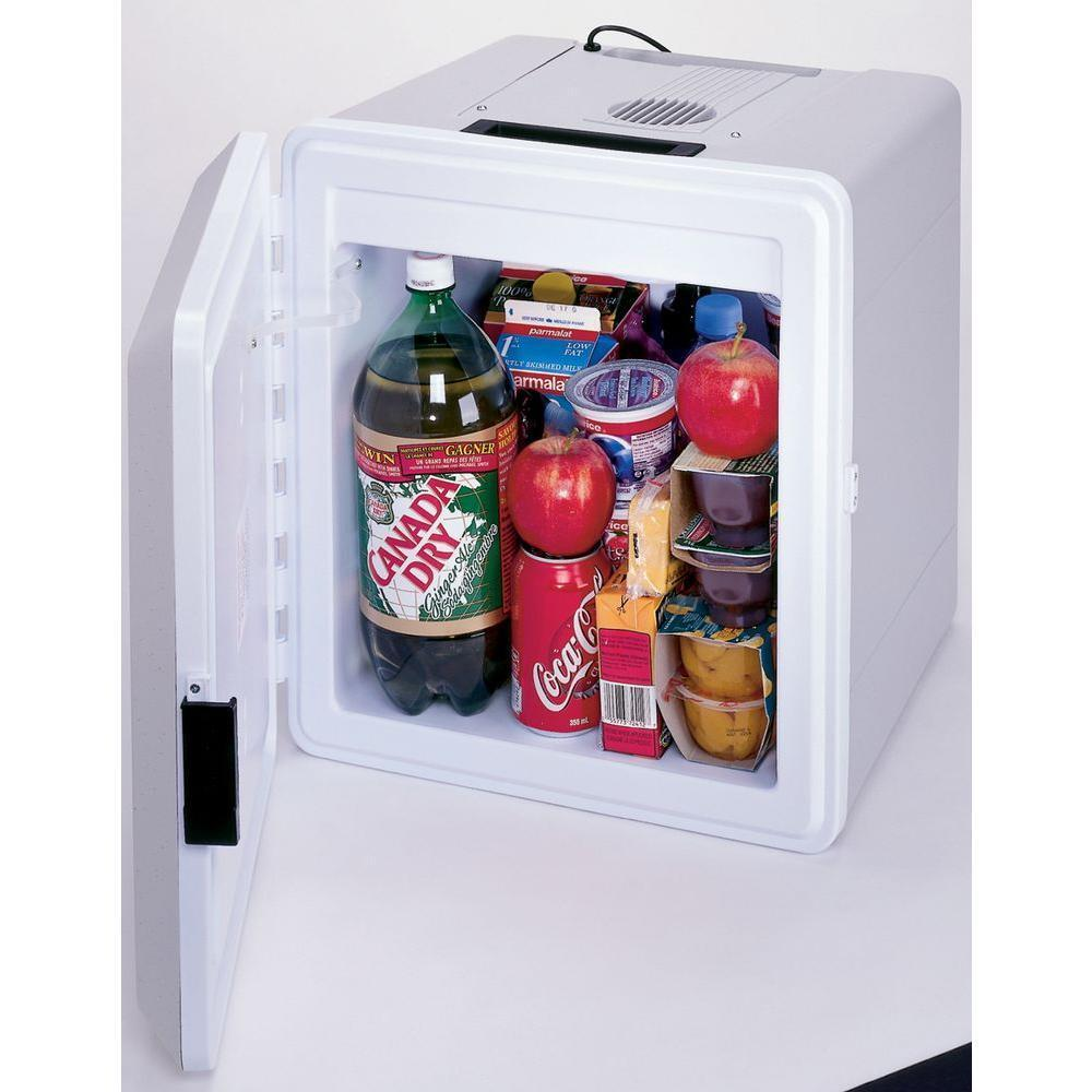 Electric Can Cooler ~ Small car fridge cooler v portable electric warmer
