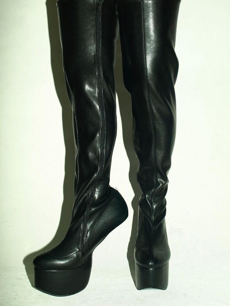 pony boots imitation leather boots size 4 12