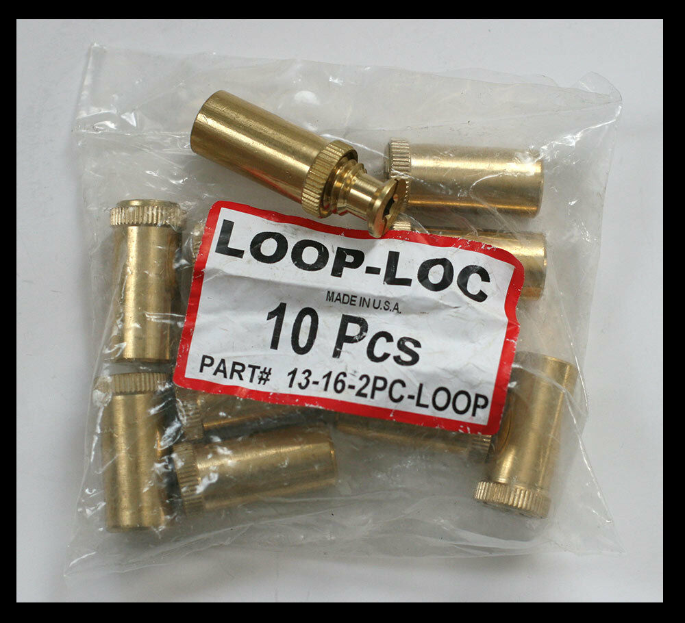 Loop Loc Swimming Pool Safety Cover Brass Anchor 10 Pcs Ebay