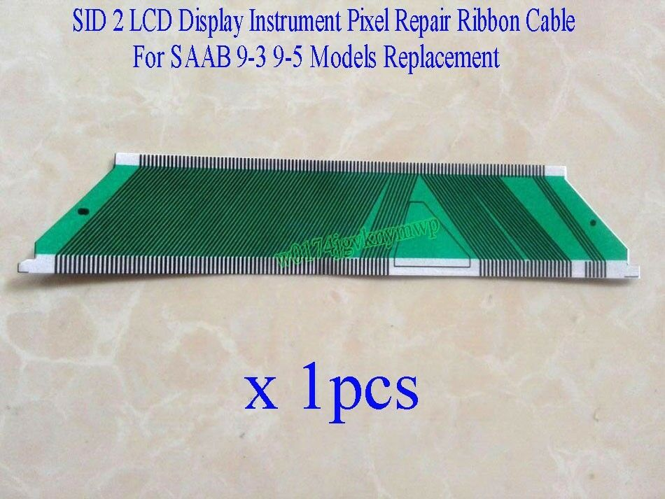 sid 2 sid 2 lcd display instrument pixel repair ribbon cable for saab 9 3 9 5 ebay