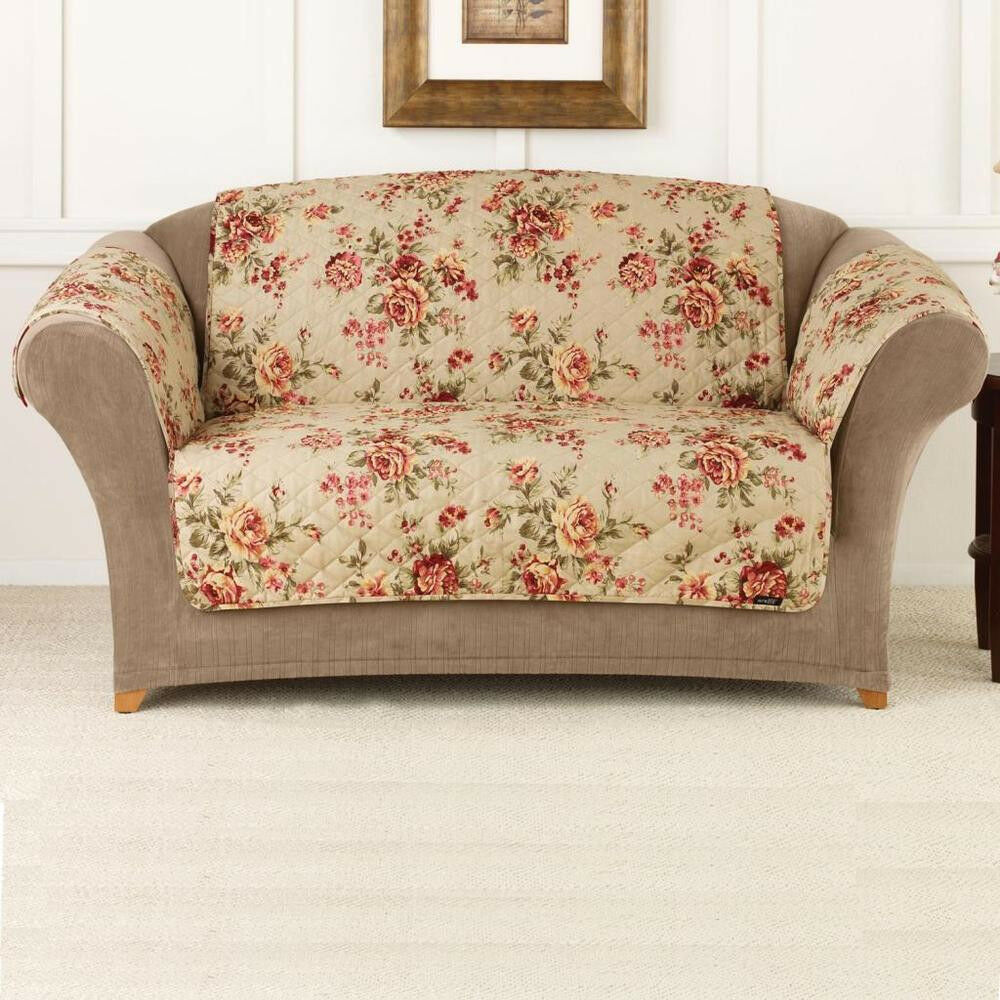 Pet furniture covers floral print throw sofa cover pet for Best furniture covers for pets