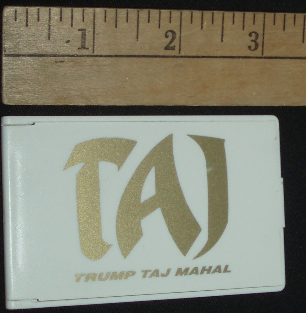 DONALD TRUMP TAJ MAHAL AC CASINO FOLDING MIRROR~~ FREE ...