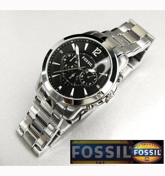 fossil s luxury collection chronograph