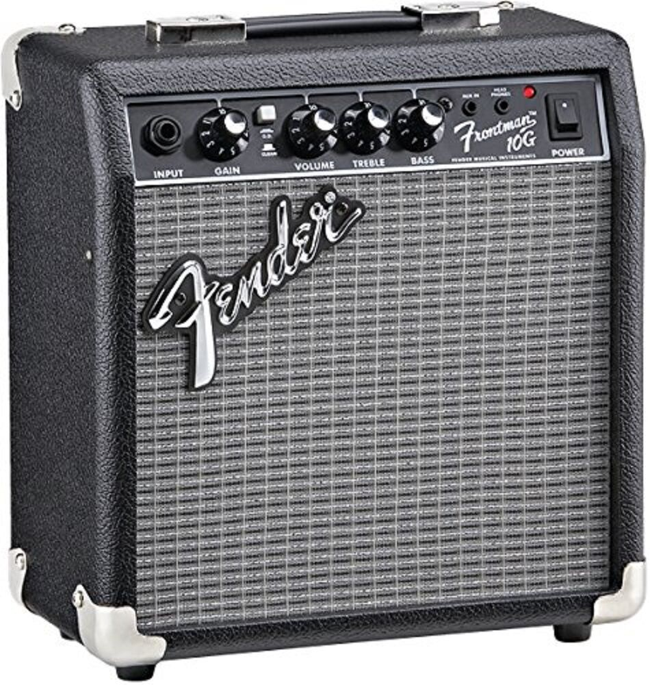 electric guitar amplifier 6in speaker 10w headphone jack practice portable amp ebay. Black Bedroom Furniture Sets. Home Design Ideas