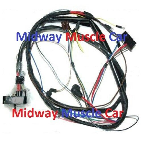engine wiring harness 68 buick gran sport skylark gs 400. Black Bedroom Furniture Sets. Home Design Ideas