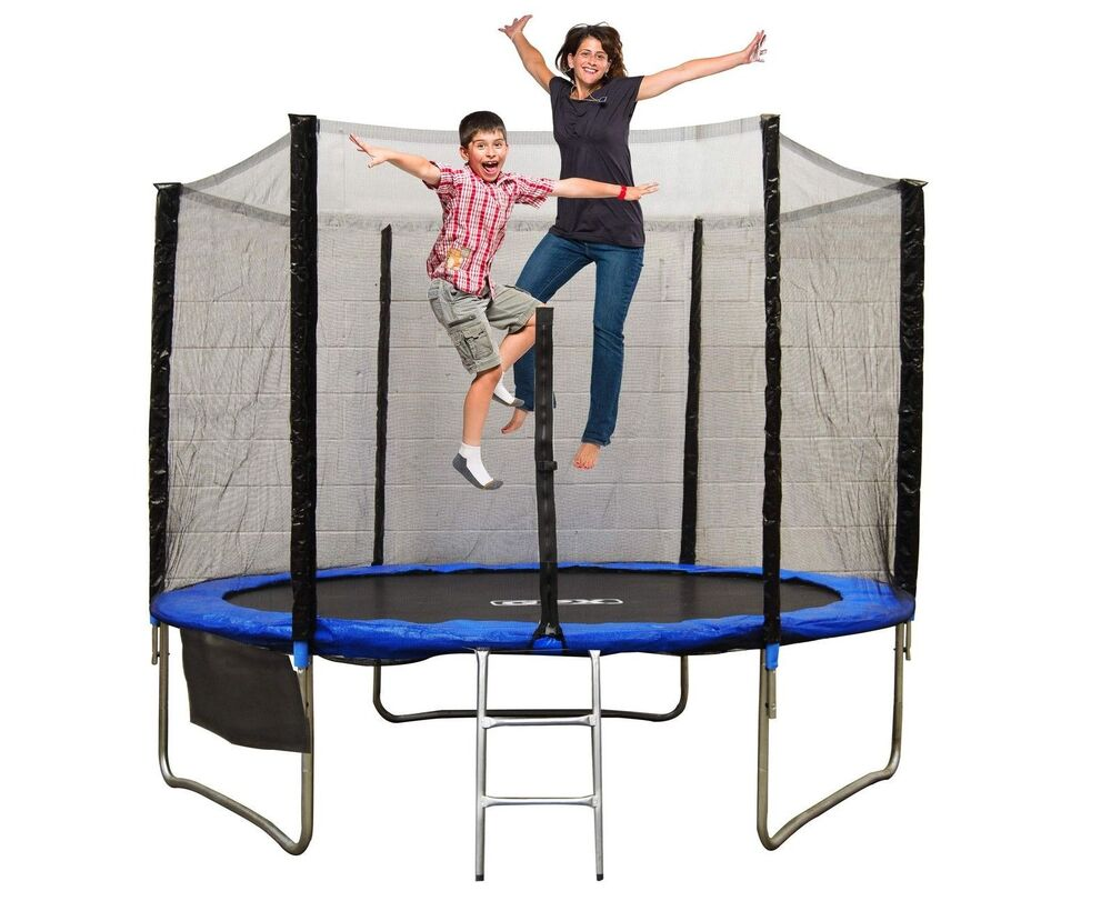6ft 8ft 10ft 12ft 14ft 16ft Trampoline With Safety Net