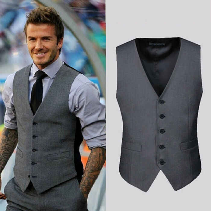 Shop Men's Dress Vests / Formal Waistcoats Browse our quality vests for all dress/formal occassions. High quality and fashionable men's vests, made from suit and pants fabric. Six button design vest can be worn with or without a necktie or bow tie. Available in a large selection of mens chest sizes, these vests are suitable for formal outfits.