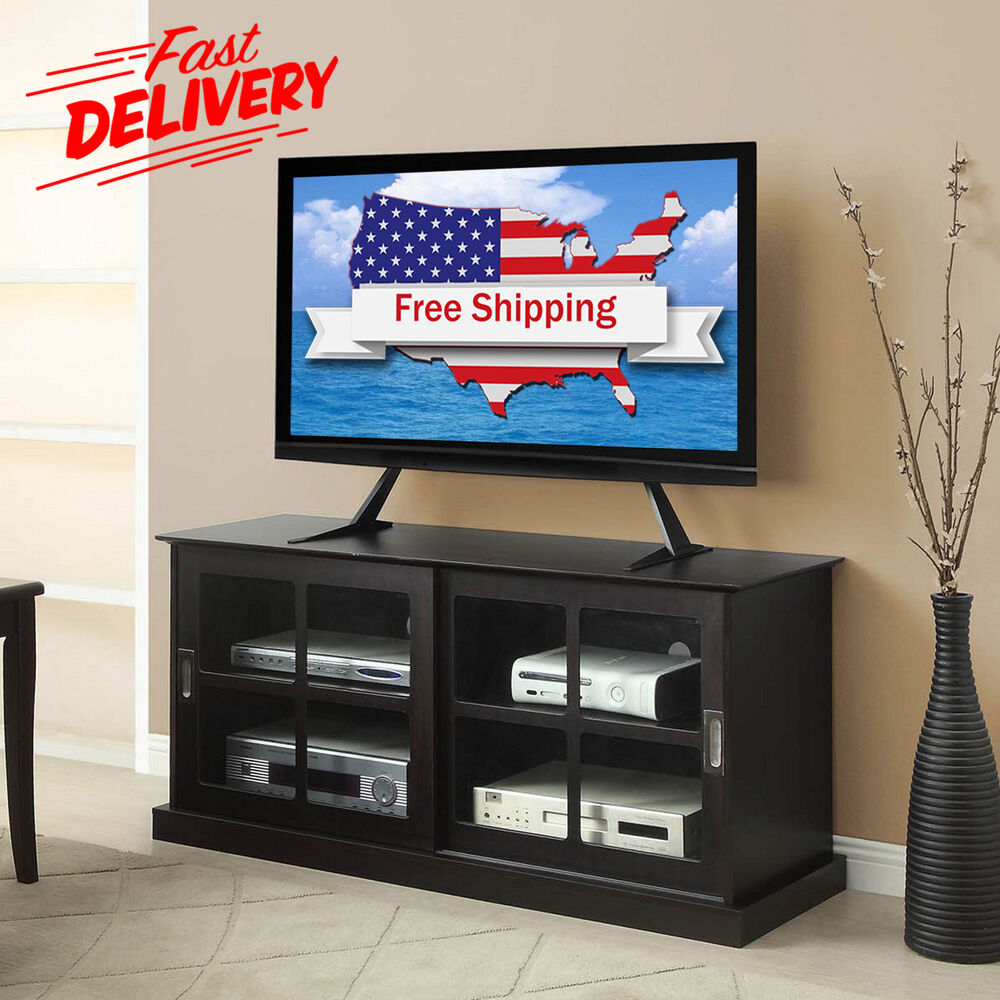 flat screen tv stand table top lcd led plasma universal. Black Bedroom Furniture Sets. Home Design Ideas