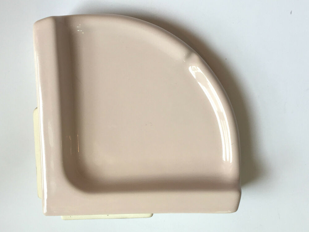 Ba 430 Large Corner Soap Dish Porcelain 7 Quot Light Pink
