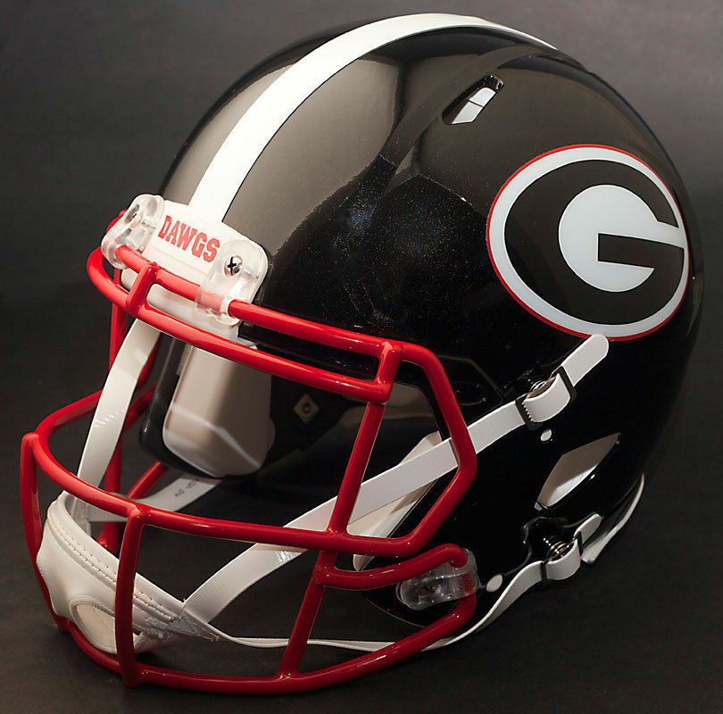 georgia bulldog helmets georgia bulldogs ncaa riddell speed full size replica 8001