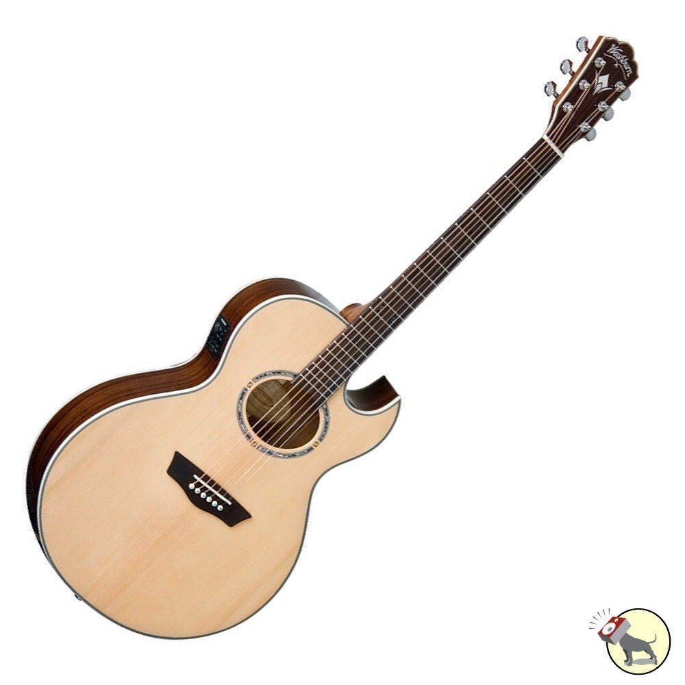 washburn ea20snb festival series nuno bettencourt acoustic electric guitar 801128023274 ebay. Black Bedroom Furniture Sets. Home Design Ideas