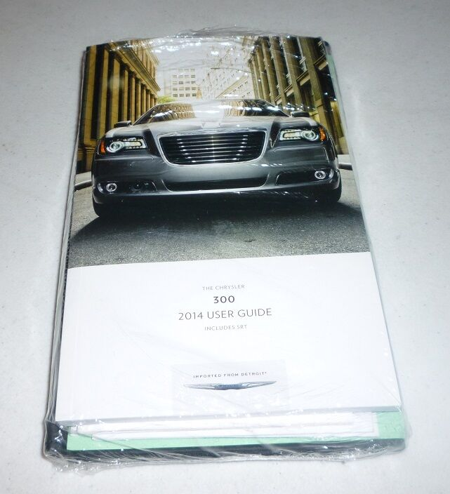 2014 CHRYSLER 300 USER GUIDE OWNERS MANUAL SET DVD SRT8 W
