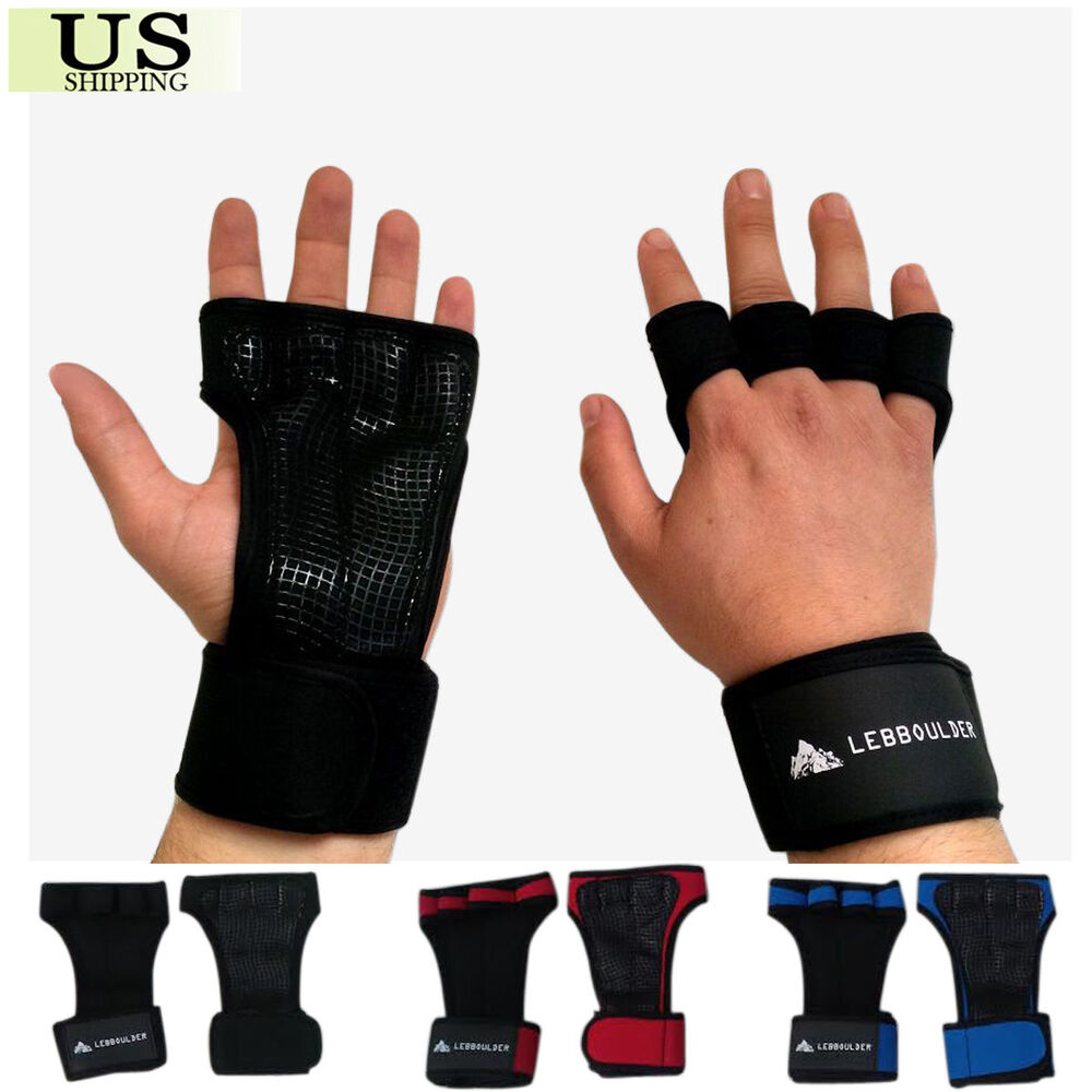 Fitness Weight Lifting Gloves: GYM Weight Lifting Gloves Health Fitness Wrist Wrap