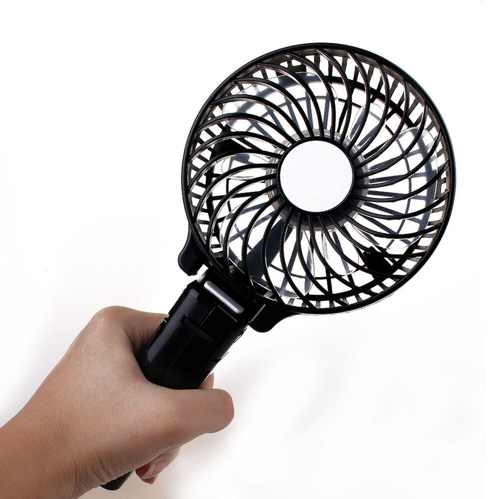 02 Cool Battery Operated Fan : Battery included fan handheld portable mini cool usb