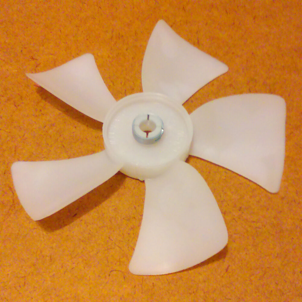 Fan Blades For Small Motors : Inch diameter plastic fan blade propeller bore