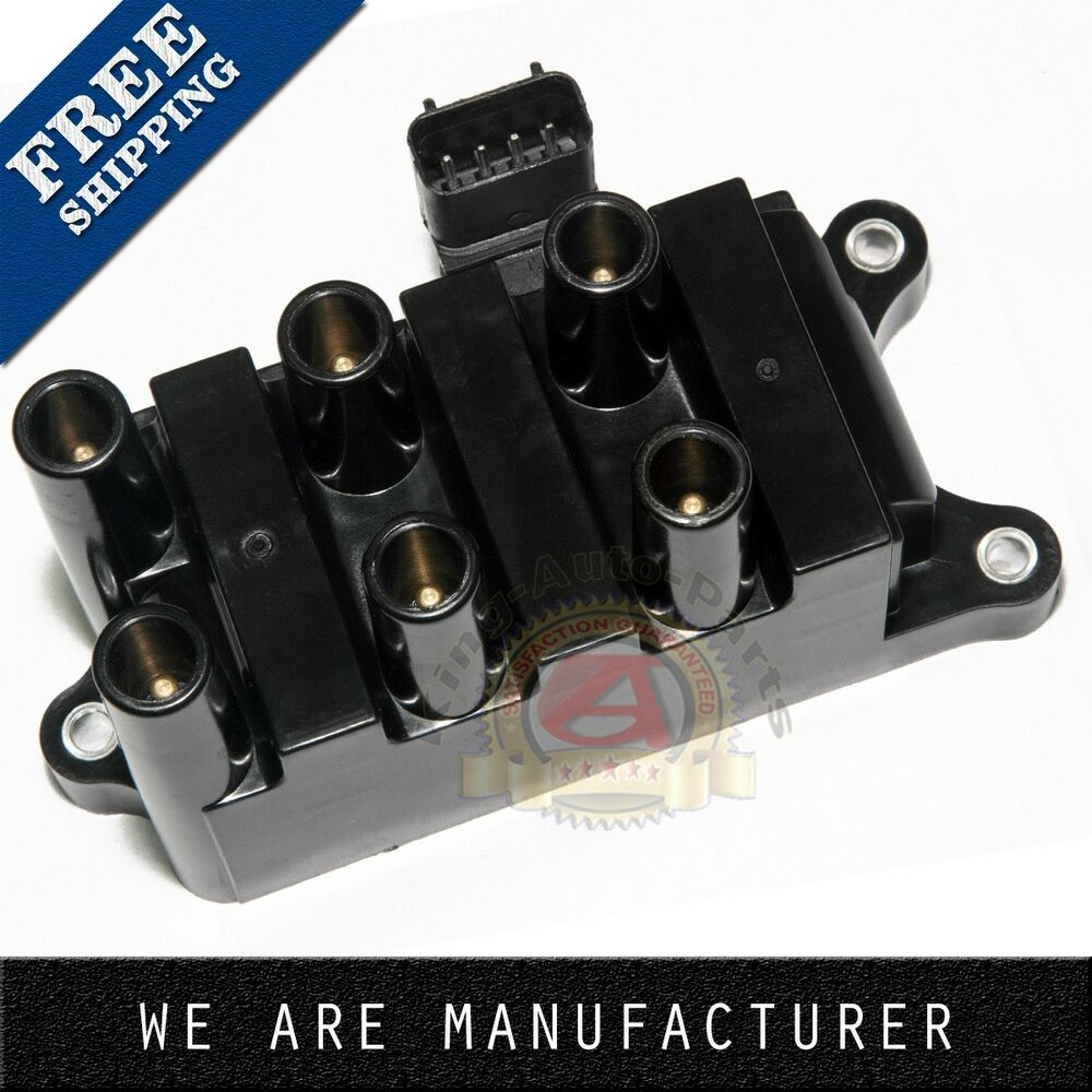ford jubilee coil wiring 12v new ignition coil pack for ford mazda mercury v6 fd-498 ... #13