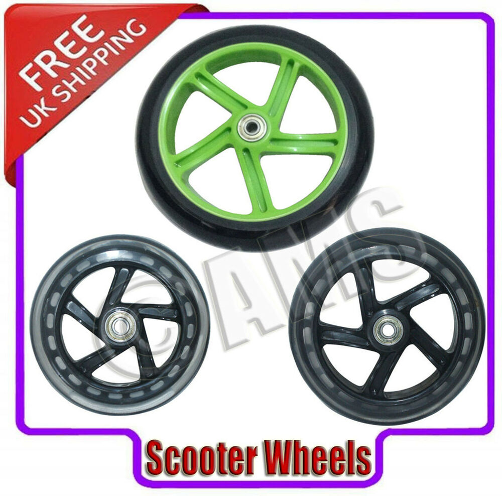 how to change scooter wheels