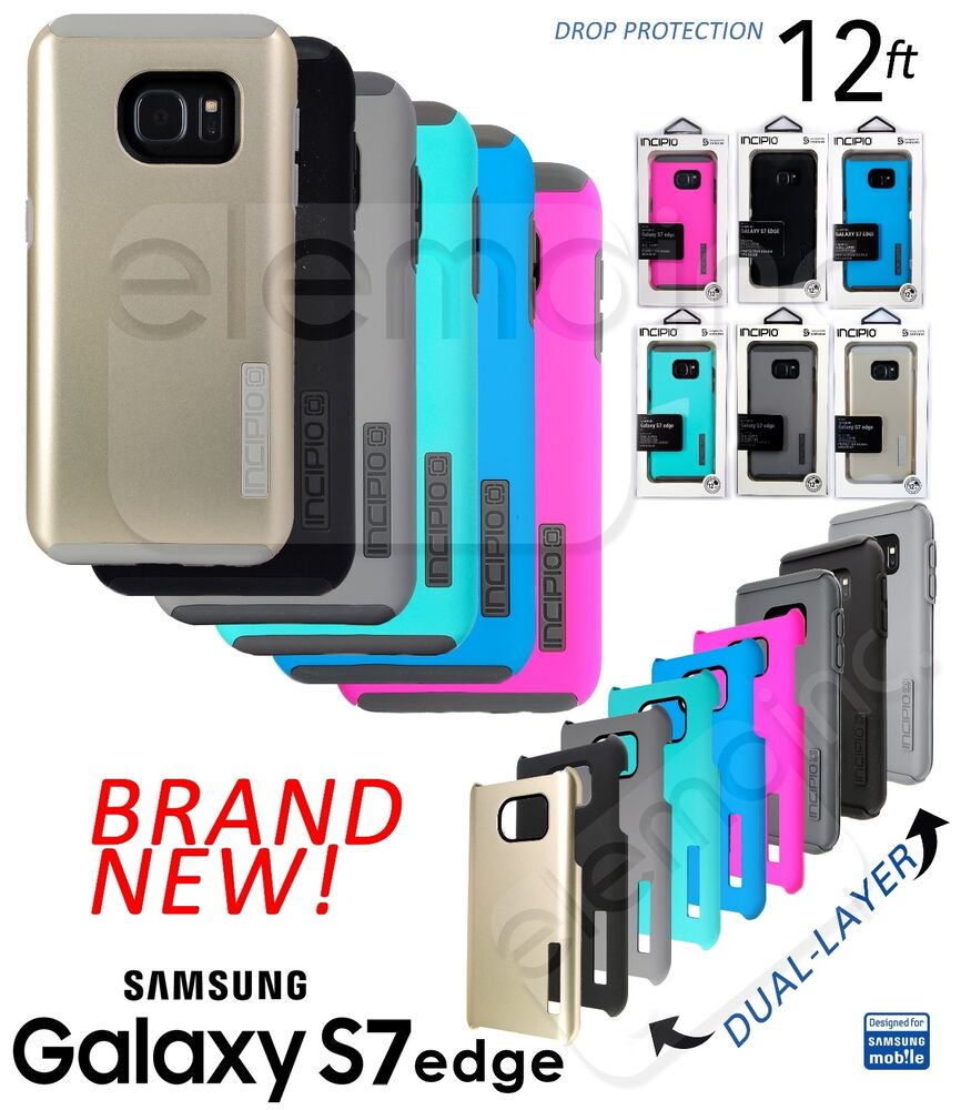 NEW INCIPIO DualPRO Rugged Drop Protection Cover Case for Samsung ...