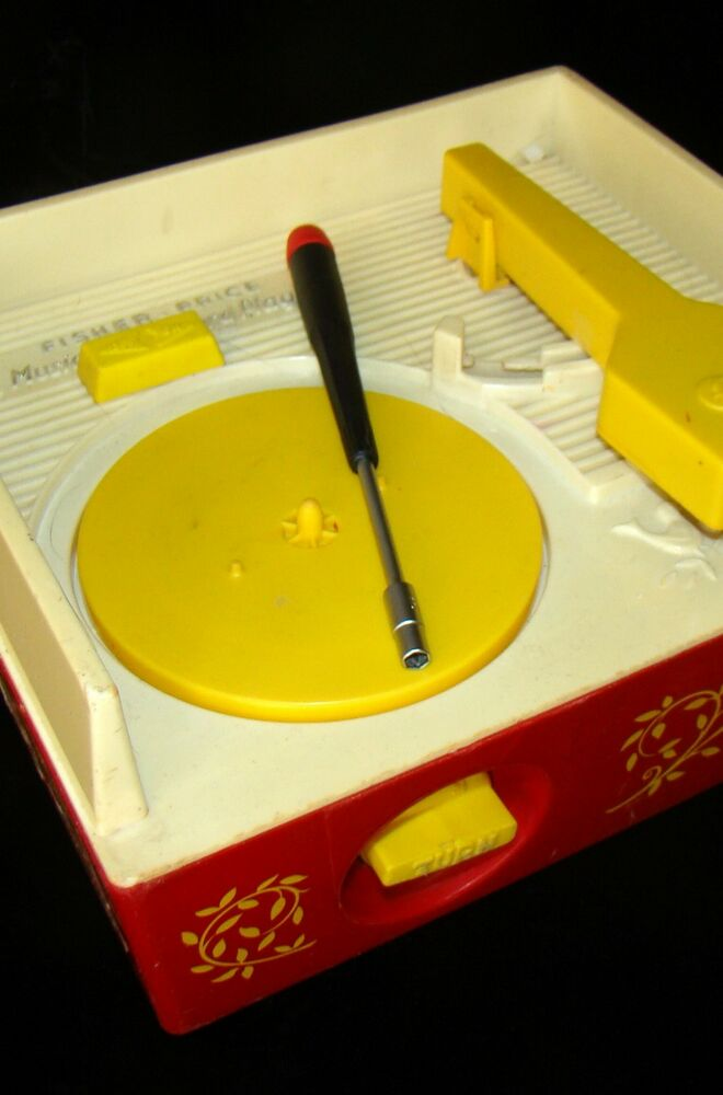 Fisher Price Music Box Record Player Repair Tool