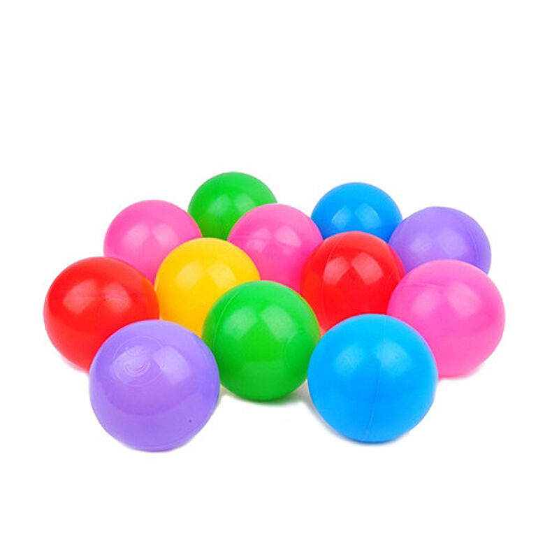 Plastic Toy Balls : Pcs colorful ball ocean balls soft plastic